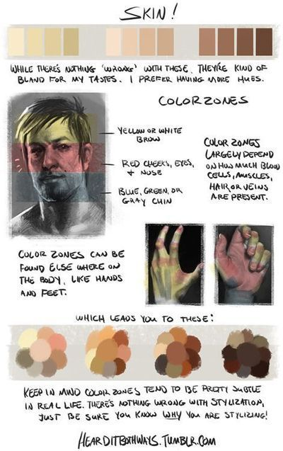 Skin Drawing Reference Guide | Drawing References and Resources | Scoop.it