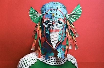 Marie Rime's stunning series of characters wearing board game masks   What's new in Visual Communication?   Scoop.it