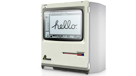 Disguise Your iPad 2 As a Really Flat Retro Apple Macintosh | All Geeks | Scoop.it