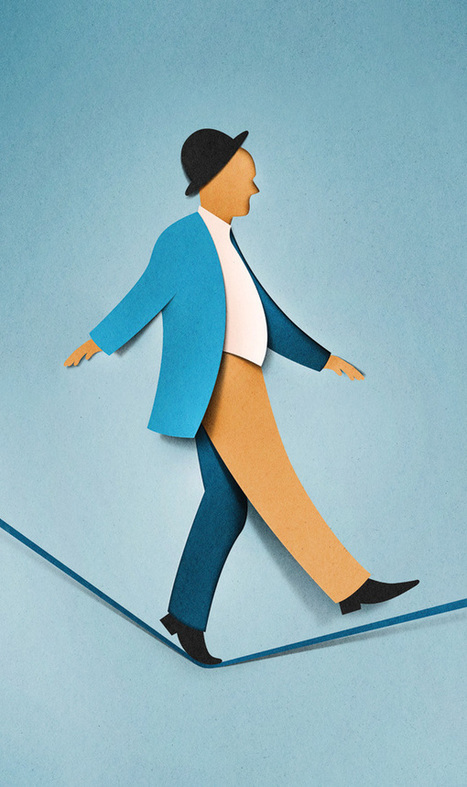 Les superbes travaux paper cut minimalistes d'Eiko Ojala | Web inspiration | Scoop.it
