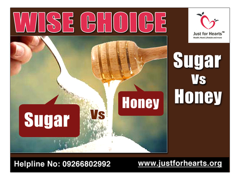 Honey Vs Sugar - What's the wise choice? | Diet Plans : Make Healthier Food Choices! | Scoop.it