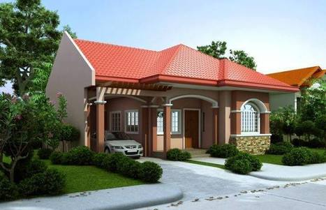 Kerala Style Single Storey Elevation With Slopi