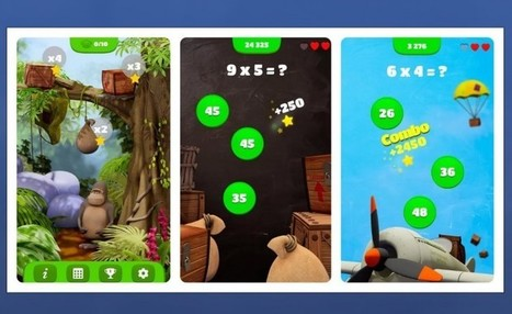 3 apps para aprender a multiplicar jugando | Educación y currículo | Scoop.it
