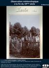 Les observations météorologiques à la fin du 19ème siècle - Météo-France | GenealoNet | Scoop.it