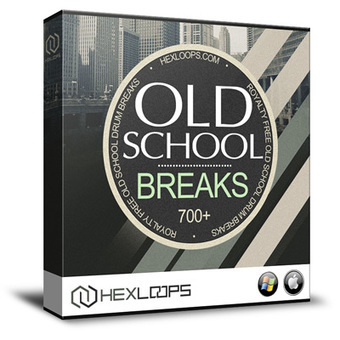 Old School Drum Breaks - Hip Hop Drum Sample Pa