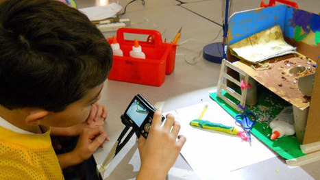 When Students Get Creative With Tech Tools, Teachers Focus on Skills | Kinderen en interactieve media | Scoop.it