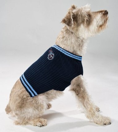 80cca5fca Pets First Tennessee Titans Pet Sweater