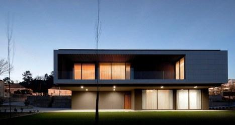Maison contemporaine portugal ventana blog for Ma maison minimaliste