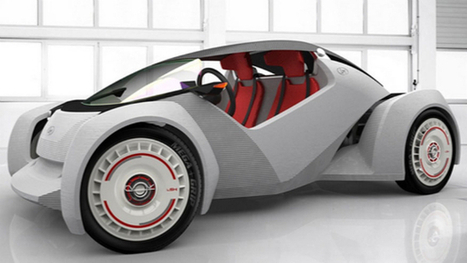 World's First Fully 3D Printed Car Only Took 44 Hours To Complete | DIY | Maker | Scoop.it