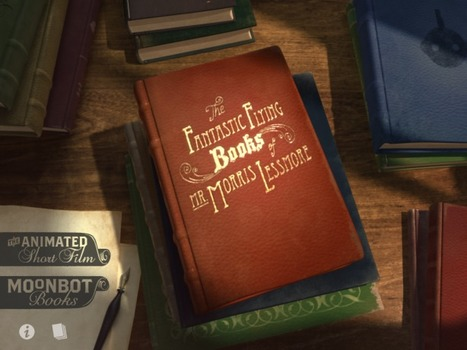 iPhone/iPad Book App Review The Fantastic Flying Books of Mr. Morris Lessmore   Publishing Digital Book Apps for Kids   Scoop.it