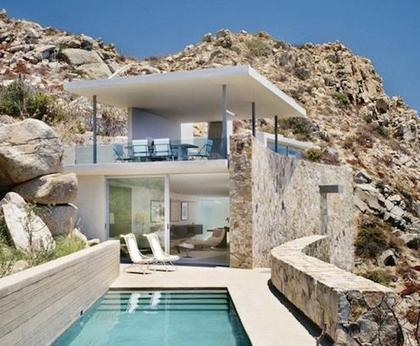 maison de r ve au mexique avec vue sur la. Black Bedroom Furniture Sets. Home Design Ideas