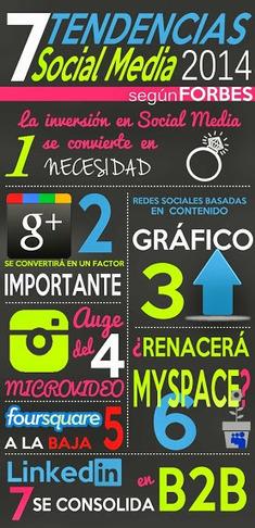 Tendencias sobre Social Media para 2014 #infografia #infographic #socialmedia | Social Media Marketing | Scoop.it