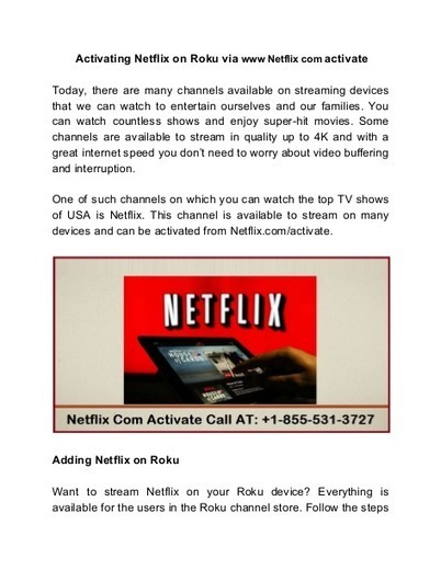 Wwwnetflix Com Activate on Your Android TV Box