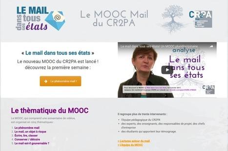 MOOC sur le thème «Le mail dans tous ses états»   TRANSARCHIVISTIQUE   Orangeade   Scoop.it
