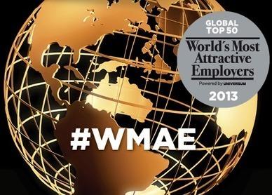 Etude Universum : les employeurs les plus attractifs au monde en 2013 I Franck La Pinta | Entretiens Professionnels | Scoop.it