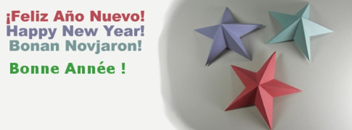 Early wishes : Bonne Année / Feliz Ano Nuevo / Happy New Year !   Collaborationweb   Scoop.it