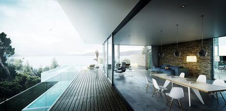 Making of Mediterranean House by nookta   Infographie 3D   Scoop.it