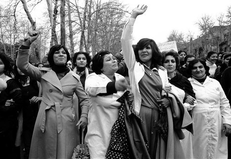 The day 100,000 Iranian women protested the head scarf   IELTS, ESP, EAP and CALL   Scoop.it
