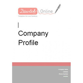 Simple business company profile templates in wo simple business company profile templates in word free templates download accmission Image collections