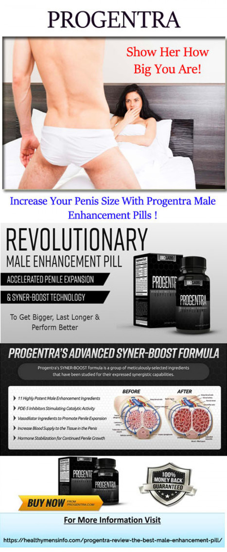 Progentra Review The Best Male Enhancement Pi