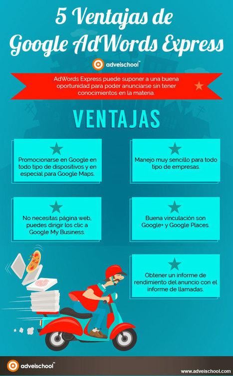 Infografía: 5 Ventajas de Google AdWords Express #jugosocial | SocialMedia | Scoop.it