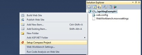 Working with Compass + Web Workbench to create button sprites within Visual Studio | .Net Web Development | Scoop.it