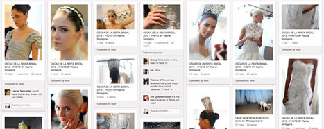 PINTEREST: Was Oscar de la Renta's live-pinning clever or just a gimmick? : Shiny Shiny   Everything Pinterest   Scoop.it