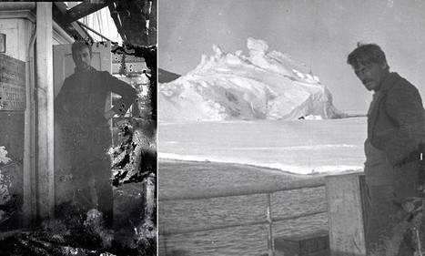 Century-old box of negatives discovered in Antarctica by conservators reveals brand new images of ill-fated mission | British Genealogy | Scoop.it