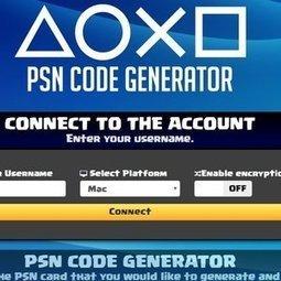 Free PSN Code Online (freepsncodeonline) on Mys