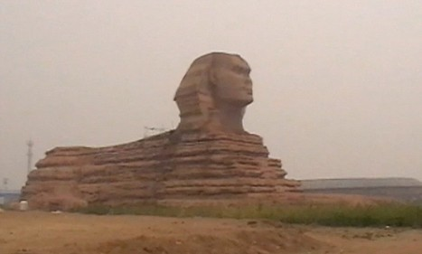 Full-size replica of Great Sphinx of Giza appears in Chinese village | Egyptology and Archaeology | Scoop.it