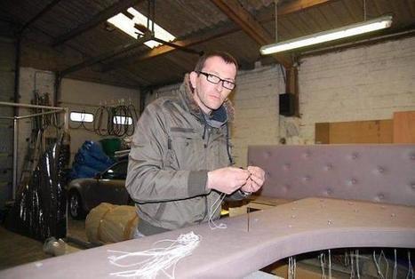 Éric Clément, le sellier qui habille les Rolls   Métiers, emplois et formations dans la filière cuir   Scoop.it