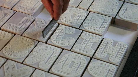 London Design Team Creates a New 3D Printed Letterpress Font | 3D and 4D PRINTING | Scoop.it