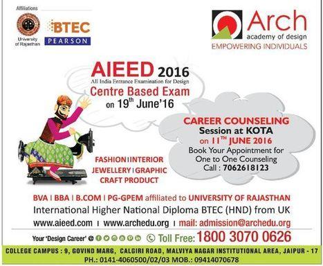 Aieed 2016 Design Entrance Exam Fashion Des