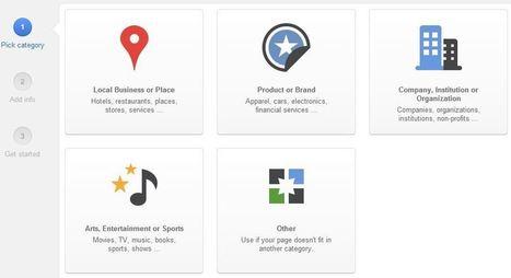 Comment gérer votre page Google Plus professionnelle ? | Les news du Web | Scoop.it