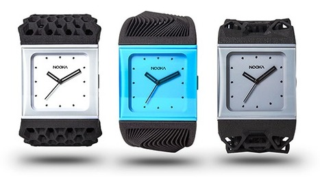 3D Systems Partners with NOOKA Timepieces to Create Custom 3D Printed Watch Bands | 3D and Technology | Scoop.it