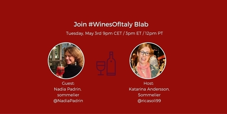 Wine Talk with Nadia Padrin at #WinesOfItaly Blab | Wine, history and culture... | Scoop.it