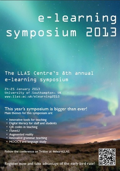 e-learning symposium 2013 | LLAS Centre for Languages, Linguistics and Area Studies | Learning Happens Everywhere! | Scoop.it