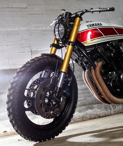 Custom Yamaha Xj 900