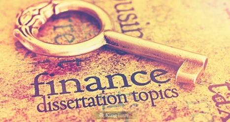 dissertation finance