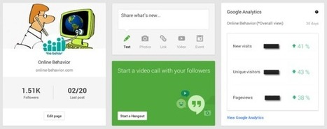Google Analytics Now Showing Up On Google+ Page Dashboard - Marketing Land   Google+ tips and strategies   Scoop.it