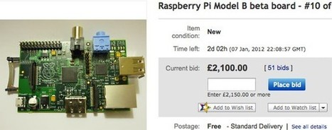 Beta $25 Raspberry Pi computers fetching exorbitant sums (for charity) on eBay | Raspberry Pi | Scoop.it