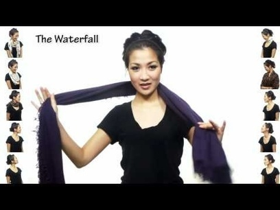 Video TUTORIAL : 25 different ways to fold, wear, twist a scarf  in only 5''!   Only the EXTRAordinary   Scoop.it