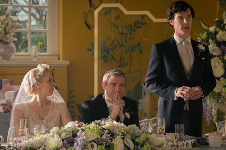 Sherlock season 3: 10 new pictures from the new series | Benedict Cumberbatch News | Scoop.it