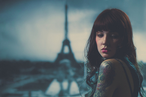 No Paris? No Problem! Using a Backdrop and Shallow DOF to Fake a Location Shoot | DSLR video and Photography | Scoop.it