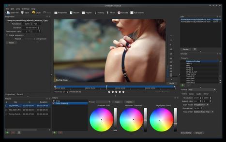 The Open-Source Cross-Platform Video Editor: Shotcut | elearning stuff | Scoop.it