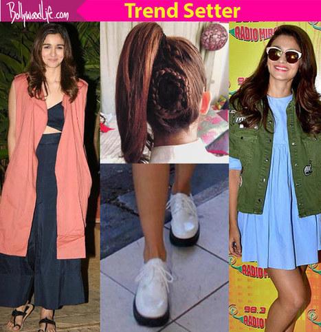 5 fashion trends set by birthday girl Alia Bhat