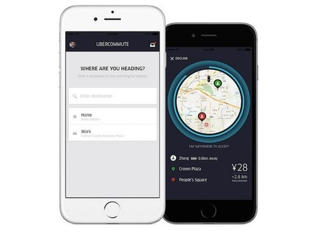 UberCommute, le nouveau service concurrent qui menace BlaBlaCar | Cartographie XY | Scoop.it
