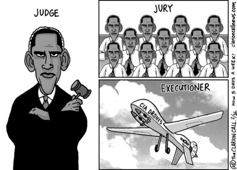 Obamaworld #cartoon #obama #usa #drones | News in english | Scoop.it