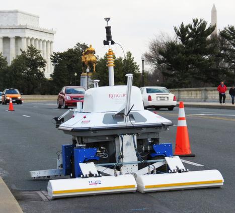 Rutgers receives innovation award for bridge inspection robot | Robots and Robotics | Scoop.it