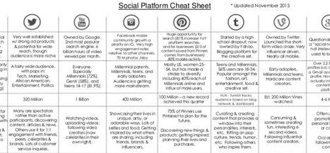Le Guide des 8 Réseaux Sociaux Principaux pour les Entreprises | CommunityManagementActus | Scoop.it